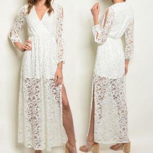 Dresses & Skirts - Lolita's Lace Lover Boho Fleetwood Gypsy Dress! <3
